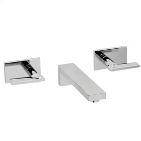 Polished Gold - PVD Wall Mount Lavatory Faucet