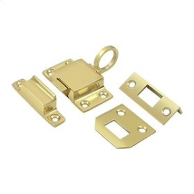 Transom Catch - Polished Brass