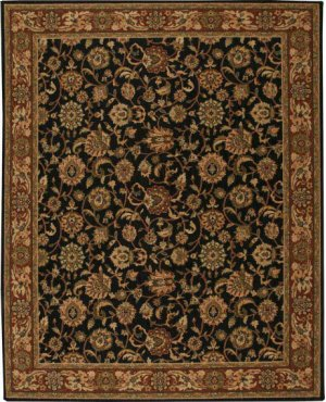 Hard To Find Sizes Grand Parterre Pt05 Mdngt Rectangle Rug 6' X 9'
