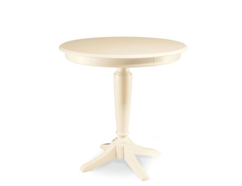 Bar Height Pedestal Table Complete