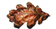 Oak Leaf - Hand-tinted Brass