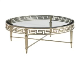 Deerfield Round Cocktail Table