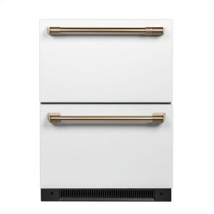 GE5.7 Cu. Ft. Built-In Dual-Drawer Refrigerator