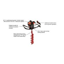 ECHO EA-410 Earth Auger Ice Auger