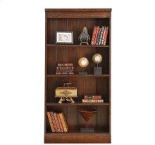 Castlewood Bookcase Warm Tobacco finish