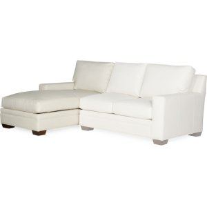 Bradington Young Hanley LAF Chaise Lounge 8-Way Tie 223-41