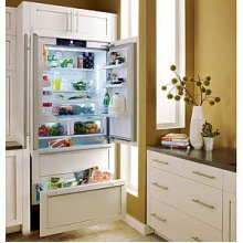 "36"" Built-In Bottom Freezer Refrigerator Custom Panel Ready"