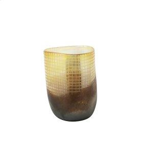 """Glass Vase 14.5"""", Multi"""