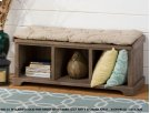 Slater Mill Bench With Storage Product Image