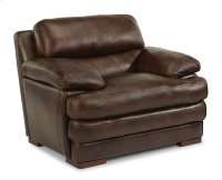 Dylan Leather Chair without Nailhead Trim Product Image