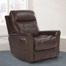 Fiji Hickory Power Recliner