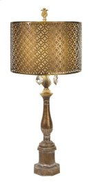 BF Savannah Table Lamp with Metal Shade Product Image