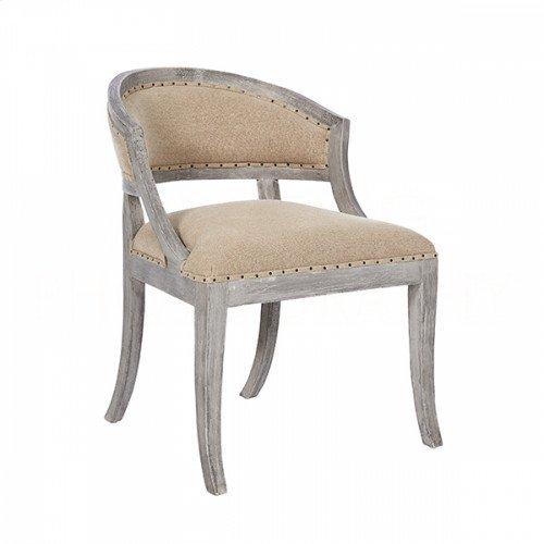 Swedish Linen Occasional Chair