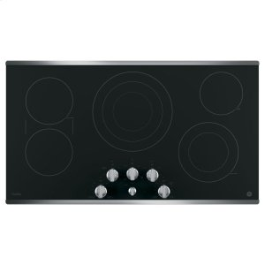 "GE Profile36"" Built-In Knob Control Cooktop"