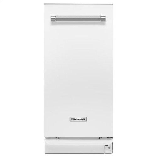 KitchenAid® 1.4 Cu. Ft. Built-In Trash Compactor - White