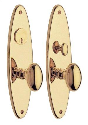 Lifetime Polished Brass Wilmington Entrance Trim Product Image