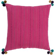 "Dhaka DH-001 18"" x 18"" Pillow Shell with Down Insert"