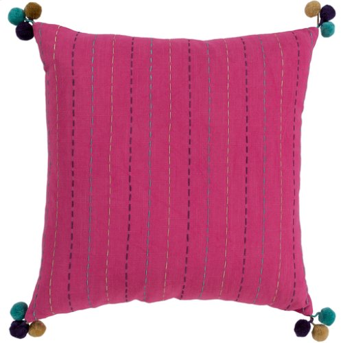 """Dhaka DH-001 20"""" x 20"""" Pillow Shell with Down Insert"""