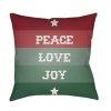 """Peace Love Joy HDY-076 20"""" x 20"""""""