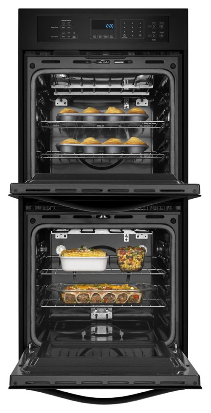 toaster clean wall double cooking oven electric ovens self ft total whirlpool cu convection cleaning