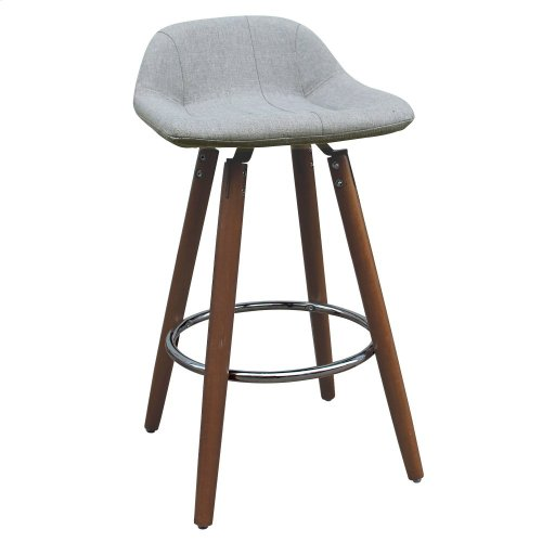 "Camaro II 26"" Counter Stool in Grey, 2pk"