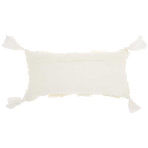 Life Styles Ns861 Cream 1' X 2' Throw Pillows