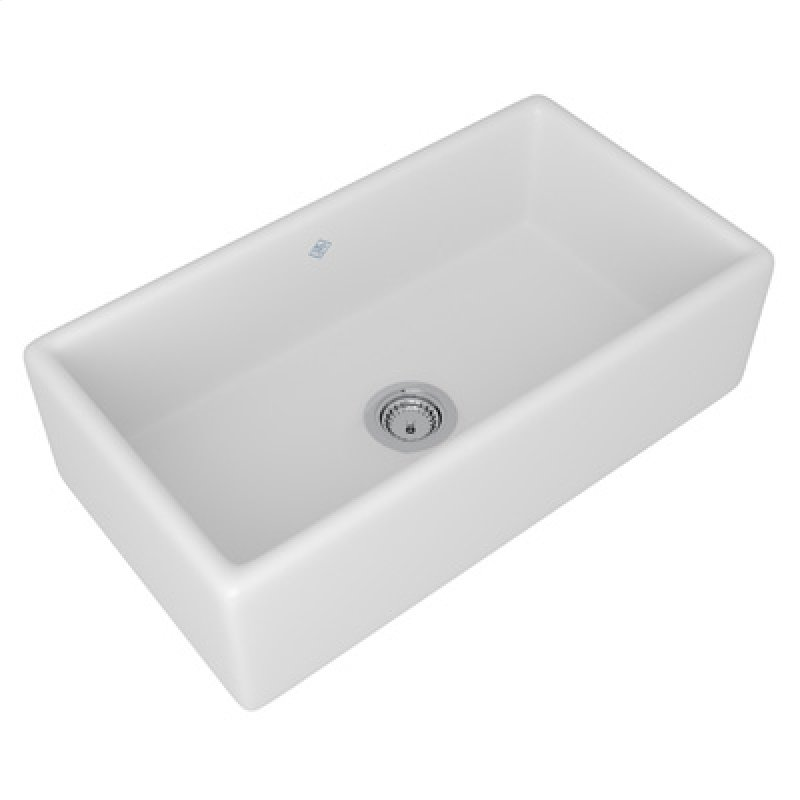 Rc3318wh in white by rohl in new milford ct white shaws original white shaws original lancaster single bowl apron front fireclay kitchen sink hidden workwithnaturefo