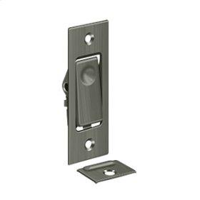Pocket Door Bolts, Jamb bolt - Antique Nickel