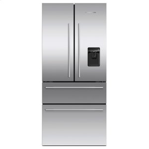 "Fisher & PaykelFreestanding French Door Refrigerator Freezer, 32"", 16.9 cu ft, Ice & Water"