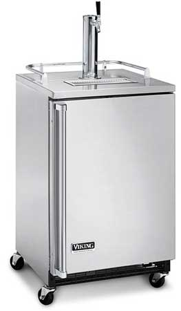 """24"""" Freestanding Beverage Dispenser - VRBD (Solid door, freestanding)"""