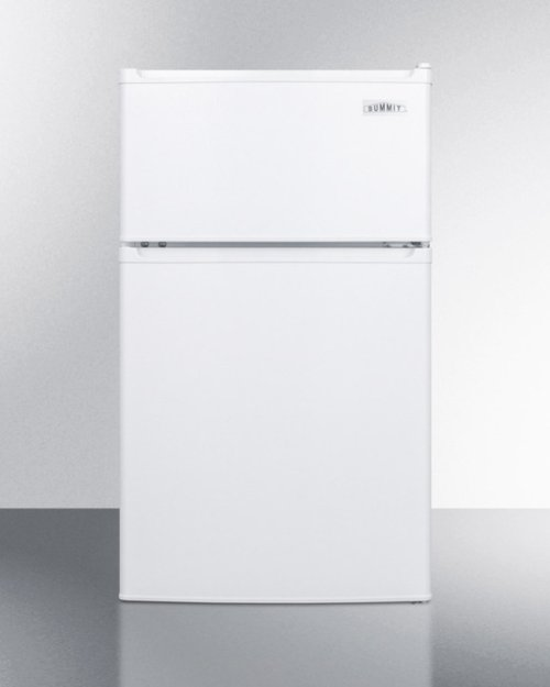 Compact Energy Star Listed Two-door Refrigerator-freezer With Cycle Defrost and Zero Degree Freezer