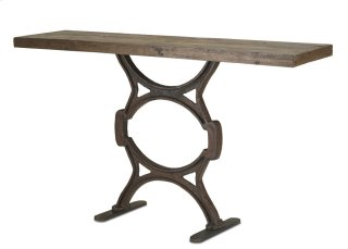 Factory Console Table - 35h x 16d x 60w