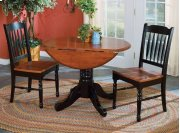 """42"""" Dropleaf Table with 2 Chairs Product Image"""