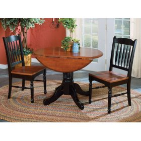 """42"""" Dropleaf Table with 2 Chairs"""