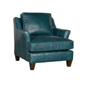 Melrose Leather Chair, Melrose Ottoman Product Image