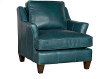 Melrose Leather Chair, Melrose Ottoman