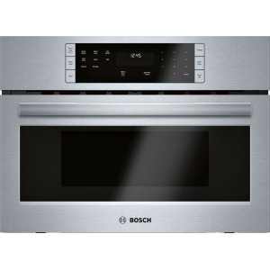 "Bosch500 Series, 27"", Microwave, SS, Drop Down Door"