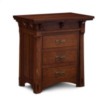 M Ryan Deluxe Nightstand with Drawers