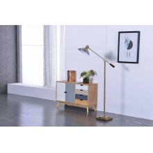 2803 Brass Floor Lamp