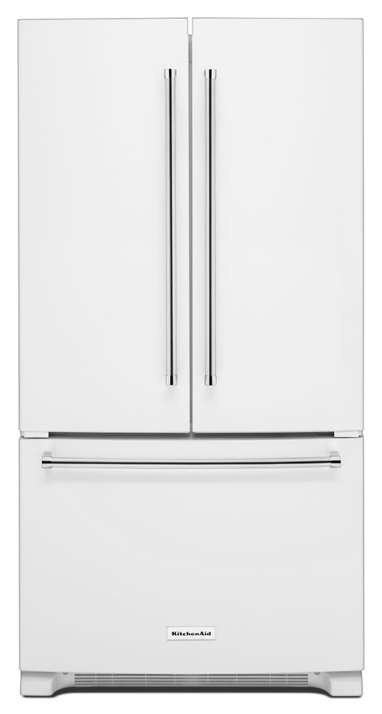 36 Inch Width Counter Depth French Door Refrigerator With