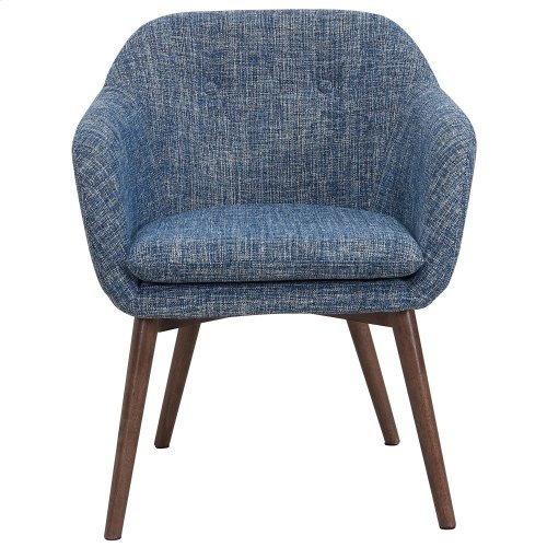 Minto Accent & Dining Chair in Blue Blend
