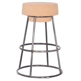 Odette Cork Counter Stool, Natural