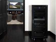 "55"" Tall AV Rack 27U Component rack for home theater equipment"