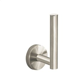 Brushed Nickel S/E Spare Toilet Paper Holder