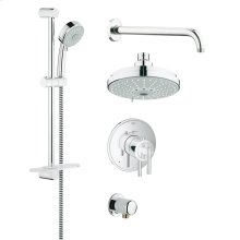 GrohFlex Shower Set Thermostat valve