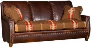 Grant Leather/ Fabric Sofa
