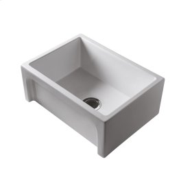 "Granville 30"" Single Bowl Fire Clay Farmer Sink - Bisque"