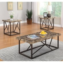 3pc Ocassional Table Set