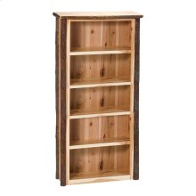 Bookshelf - Large Natural Hickory
