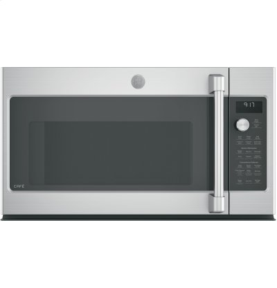 GE Cafe™ Series 1.7 Cu. Ft. Convection Over-the-Range Microwave Oven Product Image